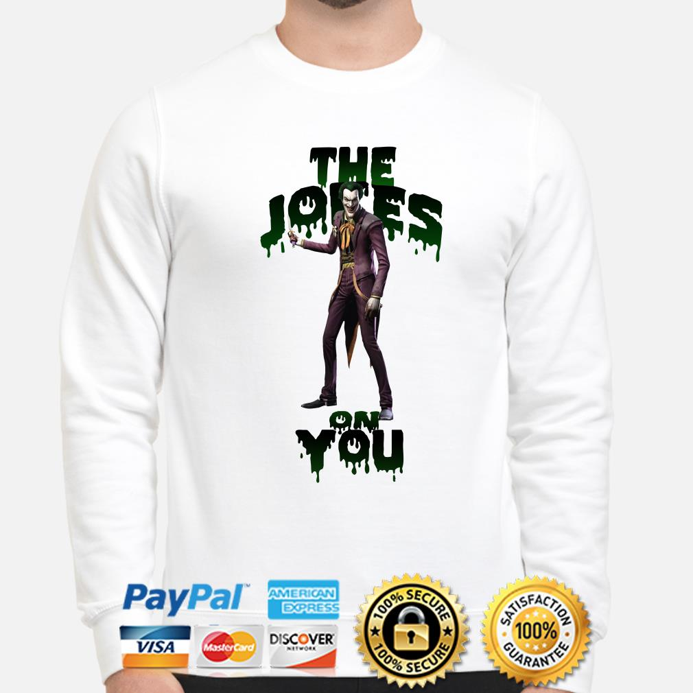 Joker The Jokes on you sweater