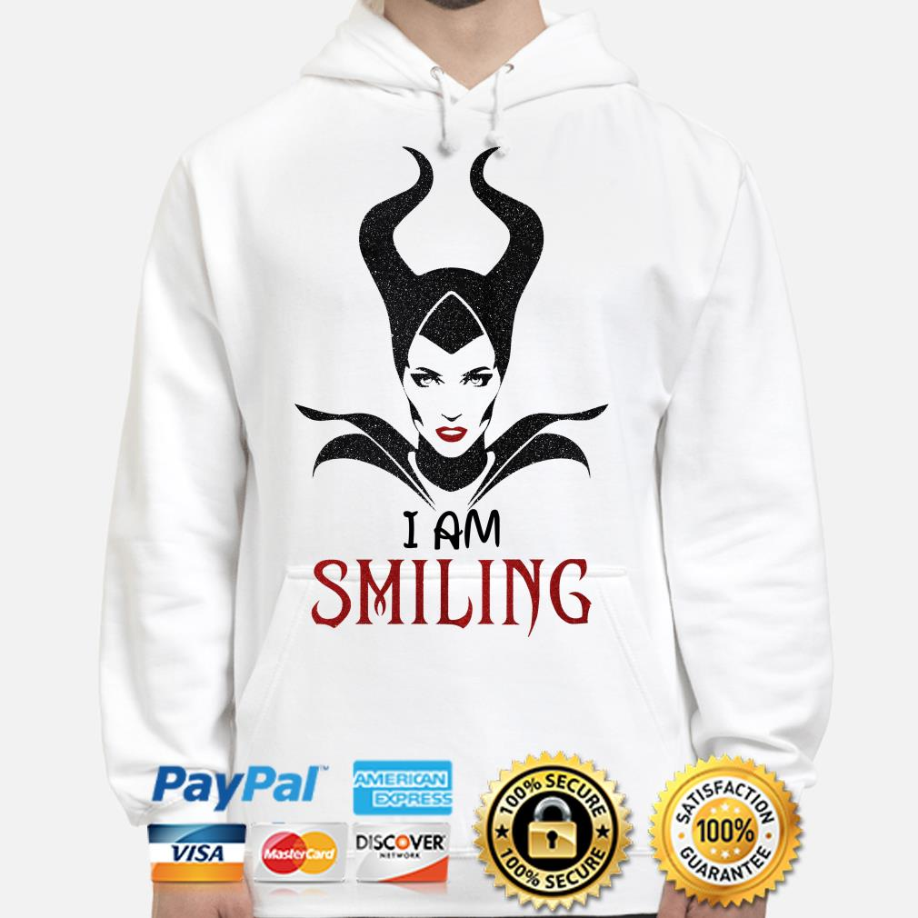 Maleficent I'm Smiling hoodie
