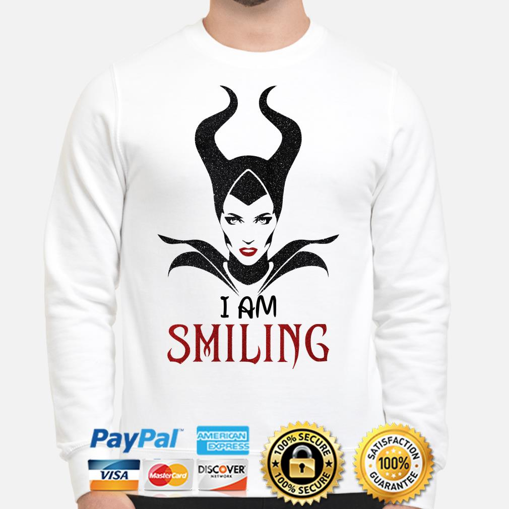 Maleficent I'm Smiling sweater