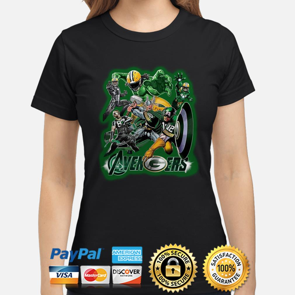 Marvel Avengers Green Bay Packers ladies shirt