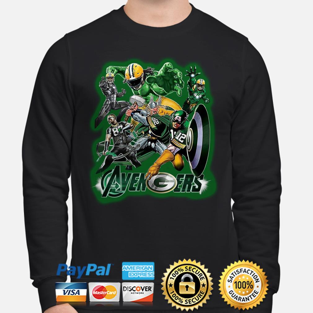 Marvel Avengers Green Bay Packers sweater