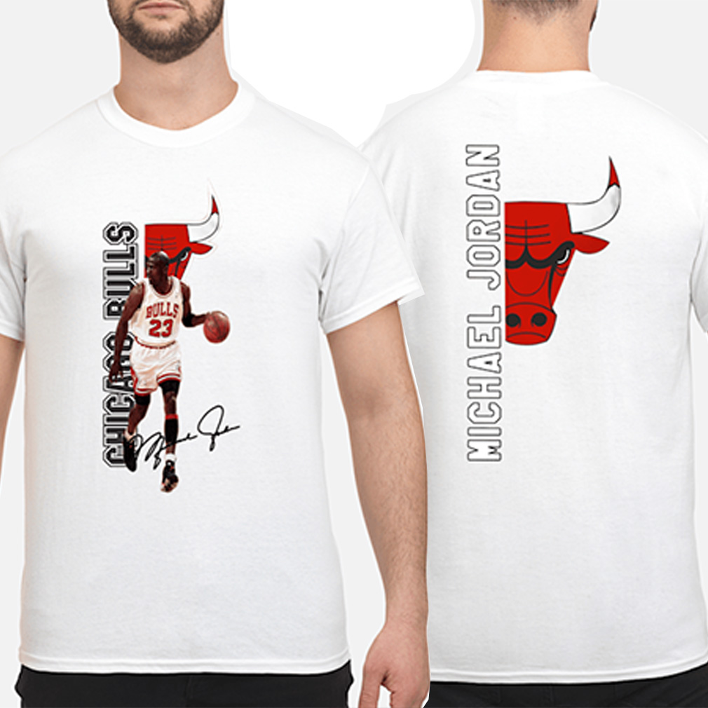 Michael Jordan Chicago Bulls signature shirt