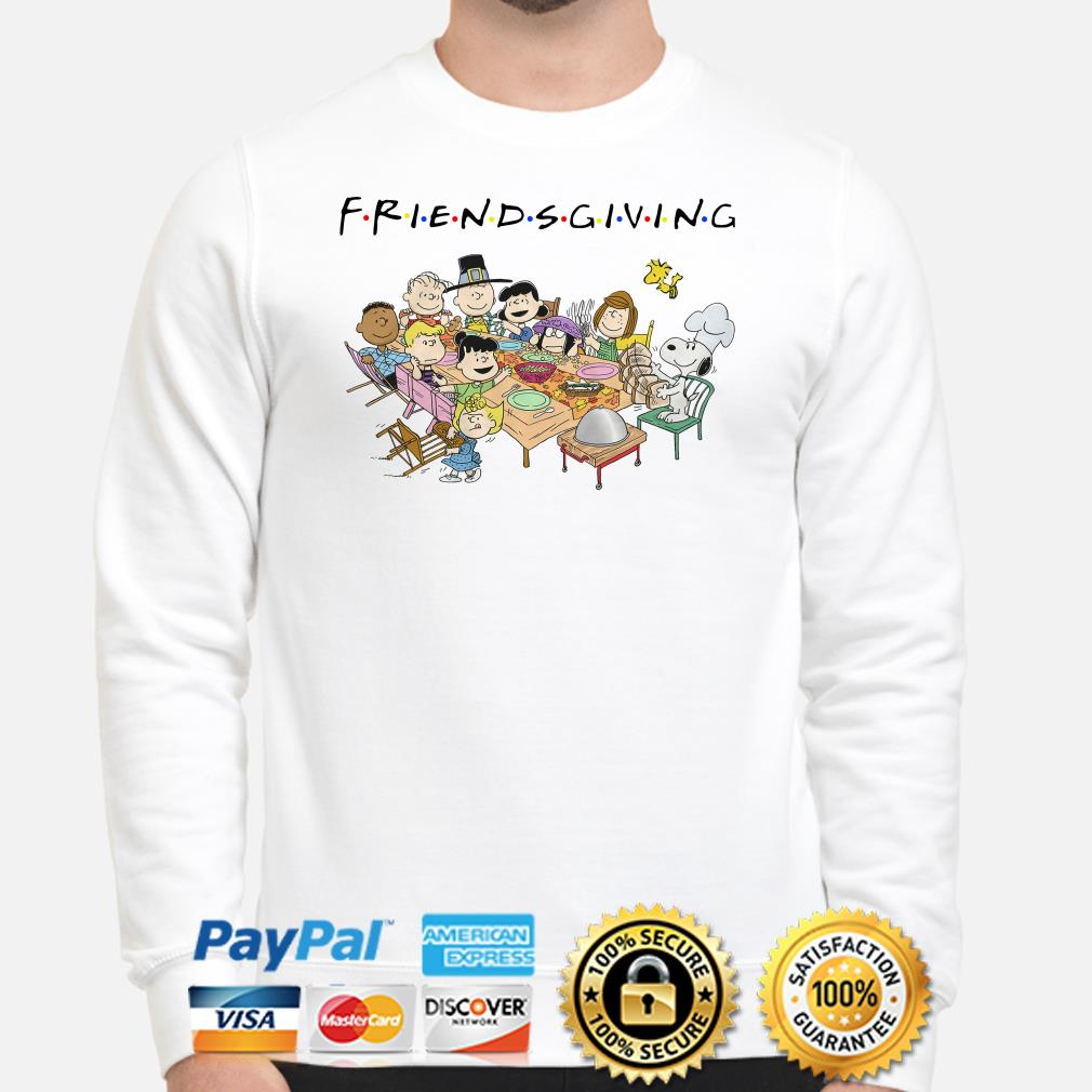 Peanuts Dinner party Friendsgiving Thanksgiving sweater