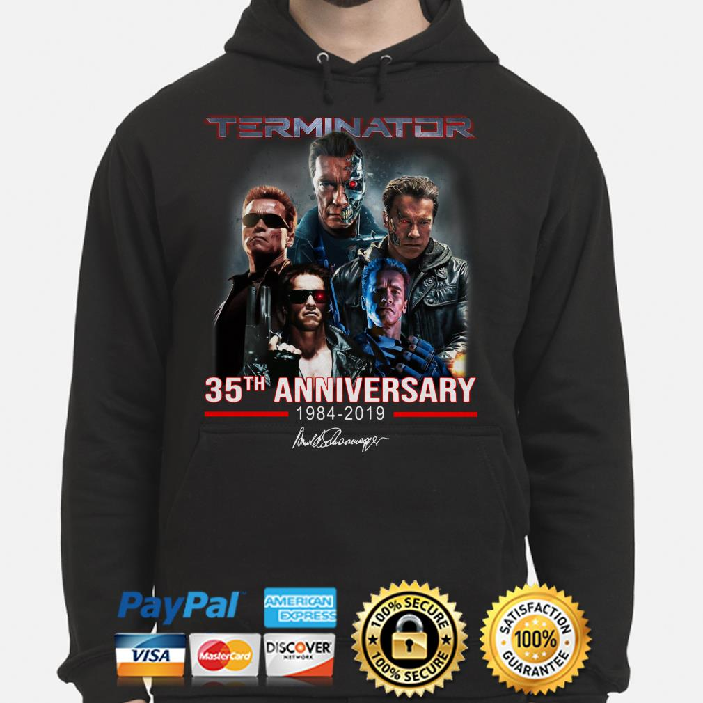 Terninator 35th Anniversary signature hoodie