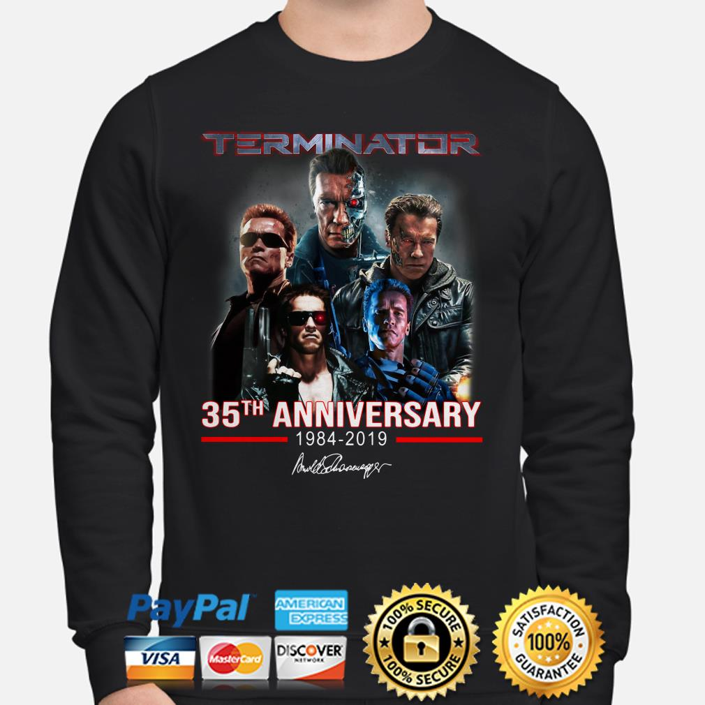 Terninator 35th Anniversary signature sweater