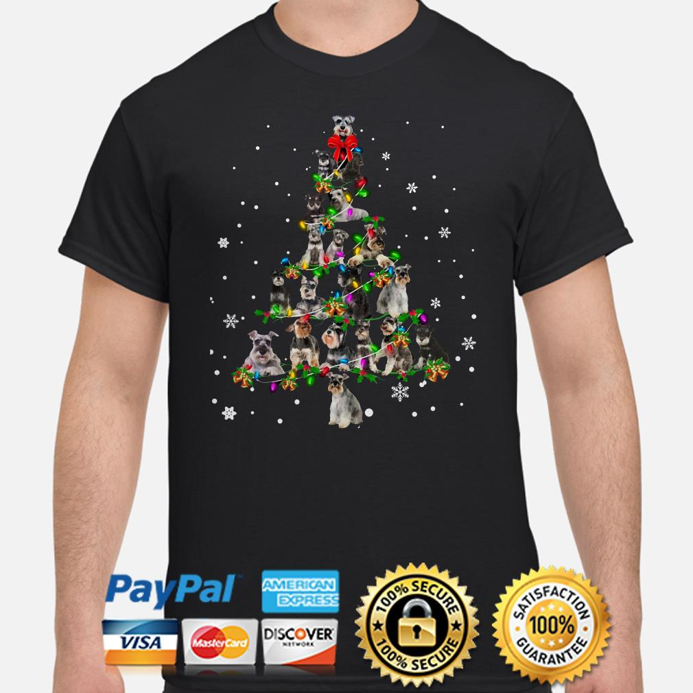 Terriers Christmas tree shirt