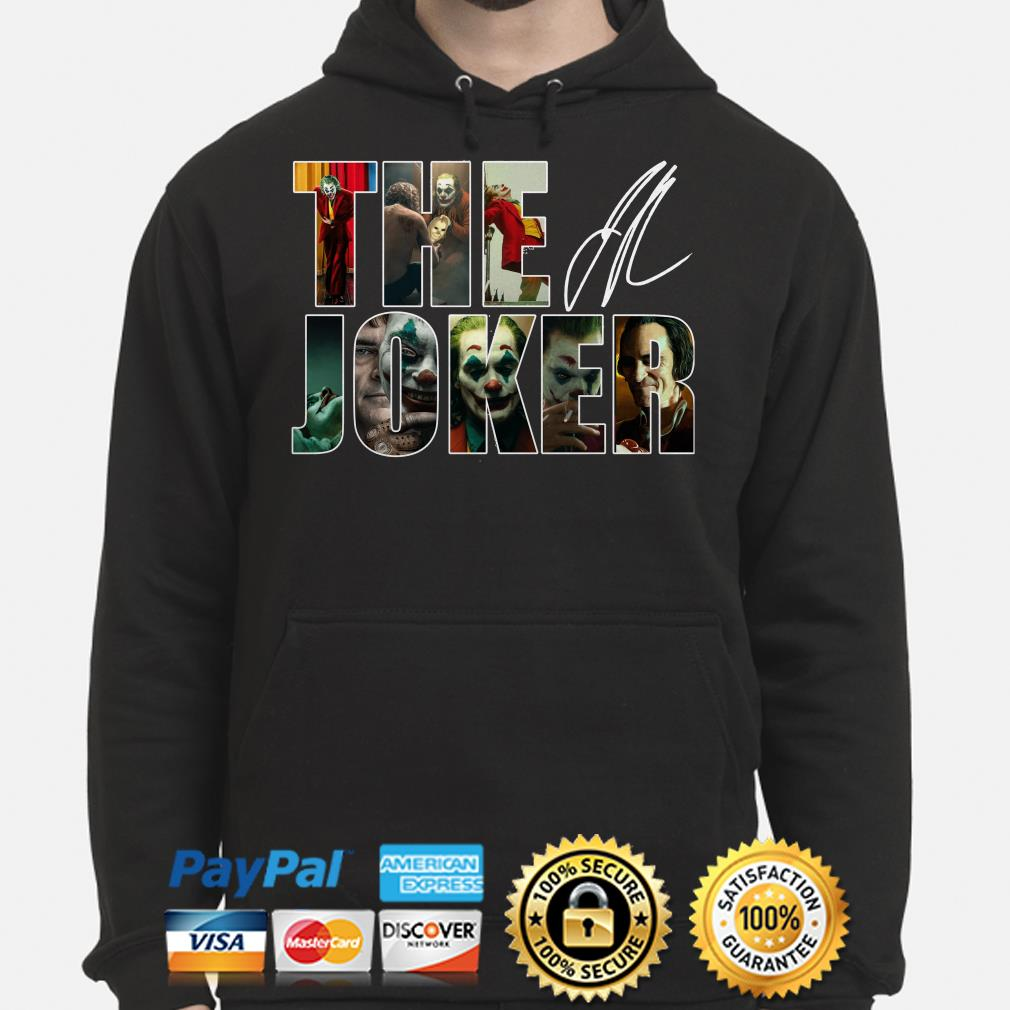 The Joker signature hoodie