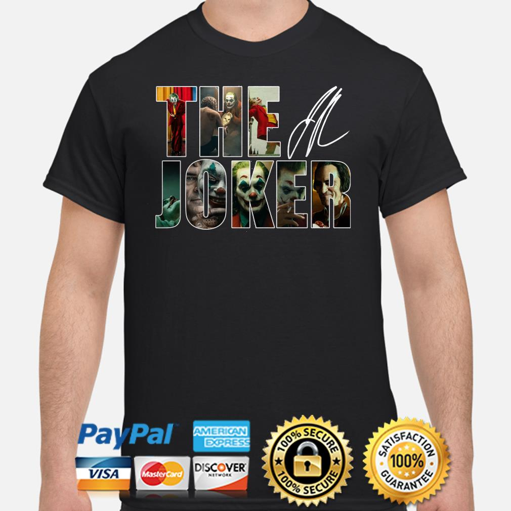 The Joker signature shirt