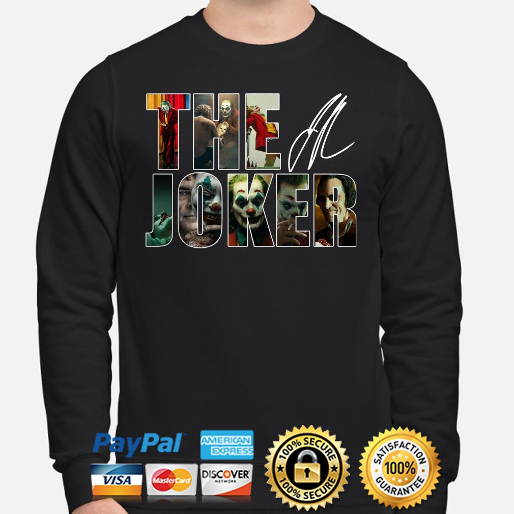 The Joker signature sweater