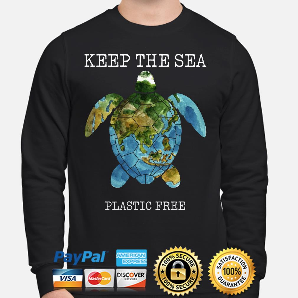 Turtle Keep the sea plastic free sweater
