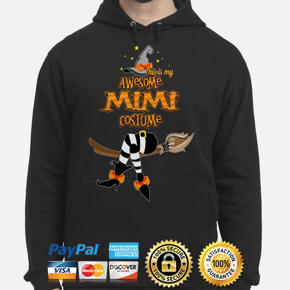 Witch this is my awesome Mimi costume hoodie