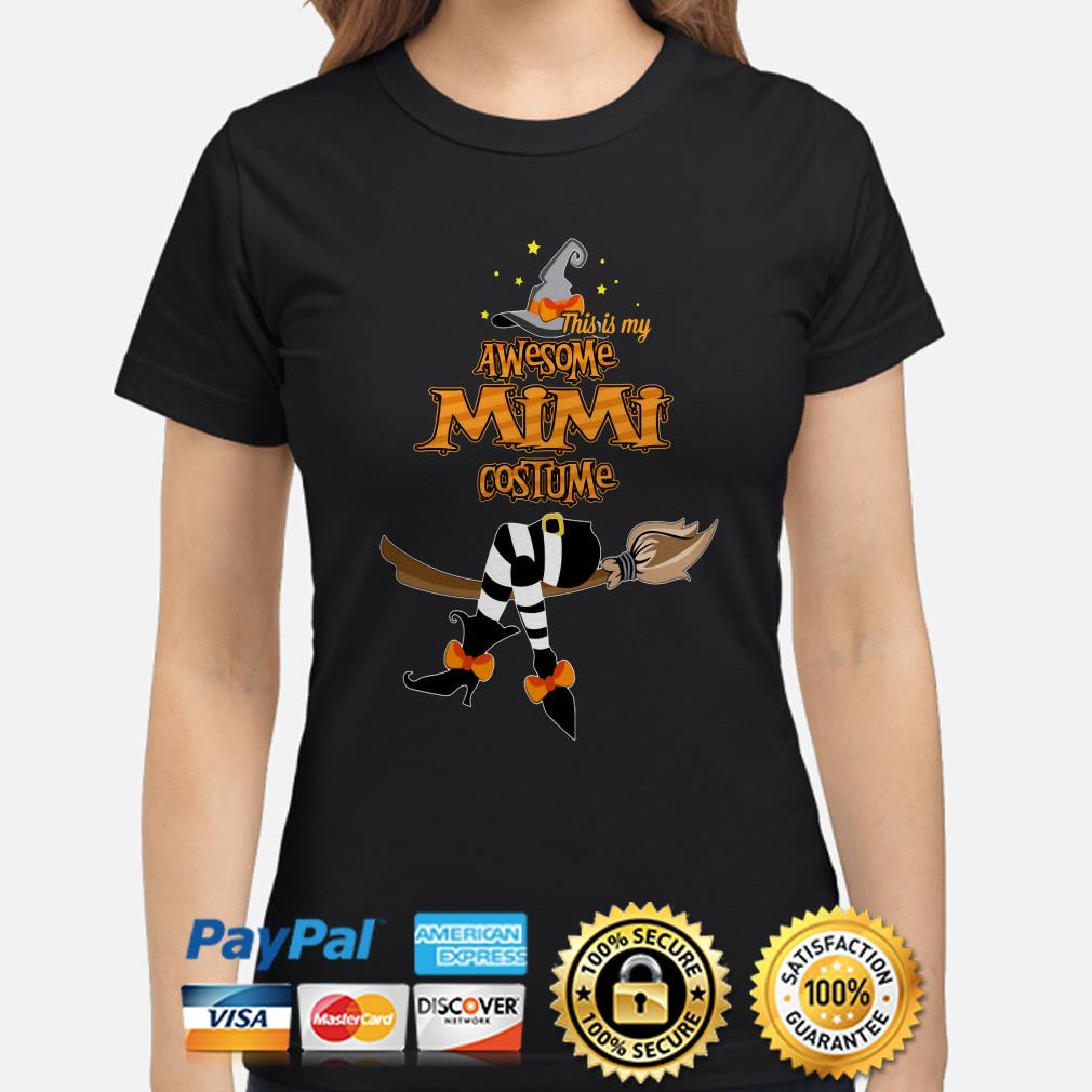 Witch this is my awesome Mimi costume ladies shirt