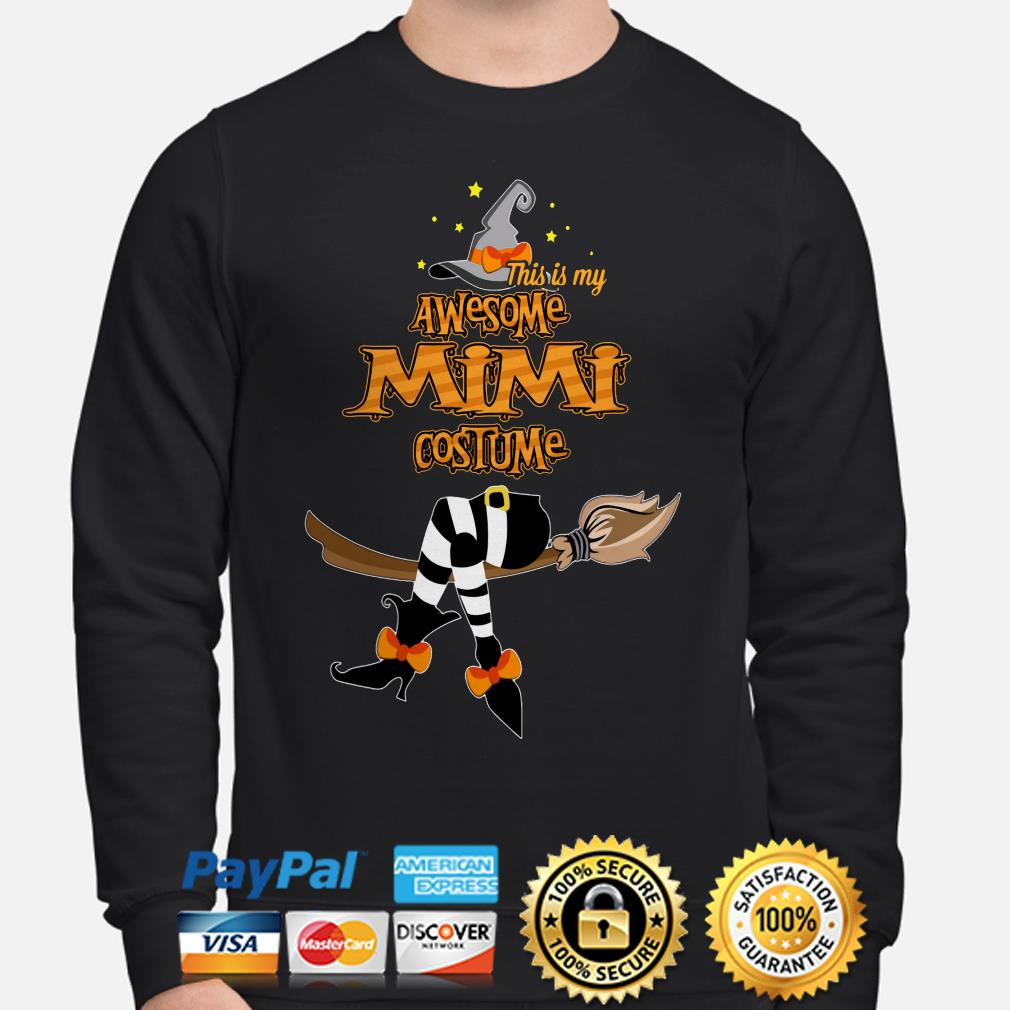 Witch this is my awesome Mimi costume sweater