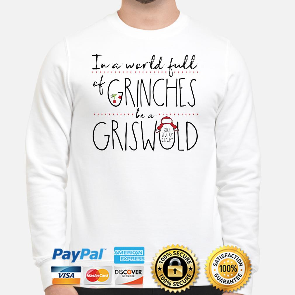 In a world full of Grinches be a Griswold sweater
