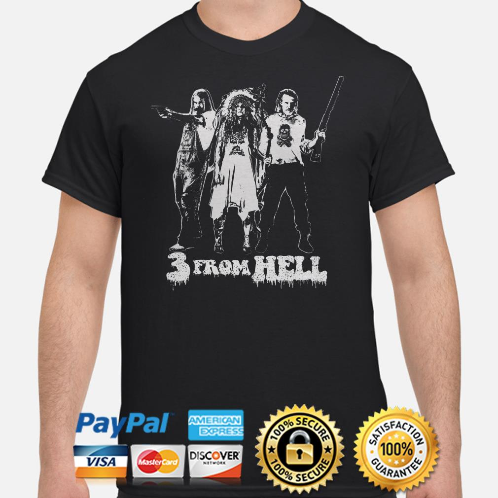 3 from hell Rob Zombie shirt