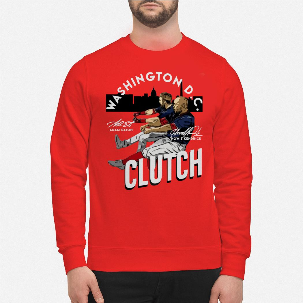 Adam Eaton and Howie Kendrick Washington DC Clutch sweater