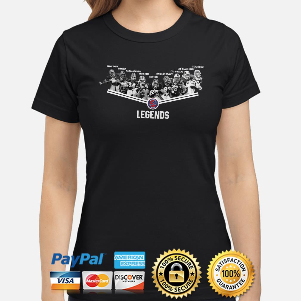 Buffalo Bills Legends Players signature ladies shirt
