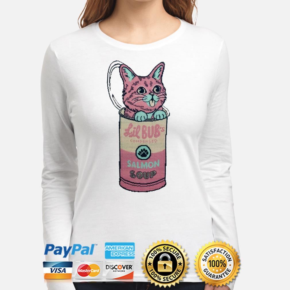 Cat in Lil Bub's Condensed Salmon soup Long sleeve