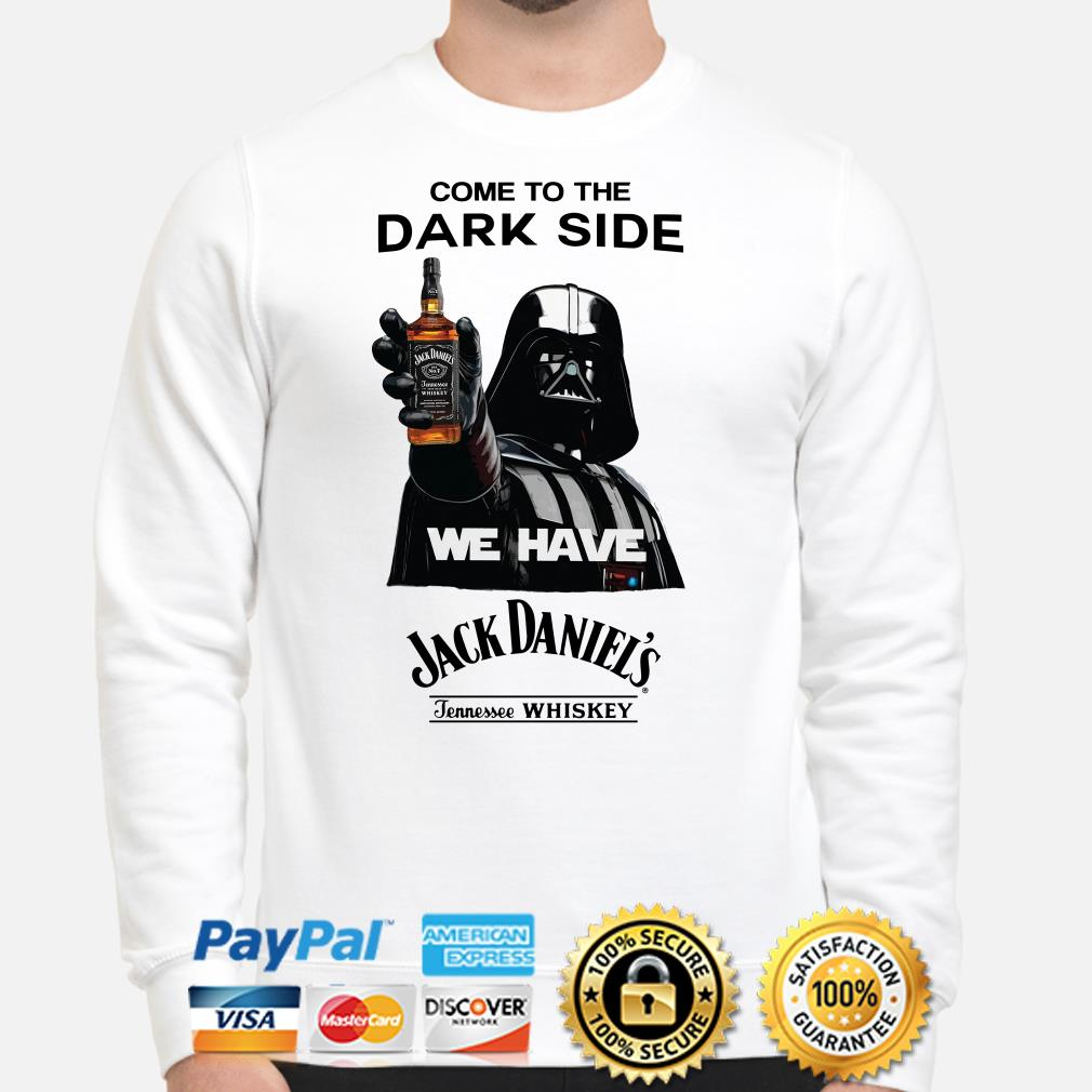 Darth Vader come to the dark side we have Jack Daniel's Tennessee Whiskey Sweater