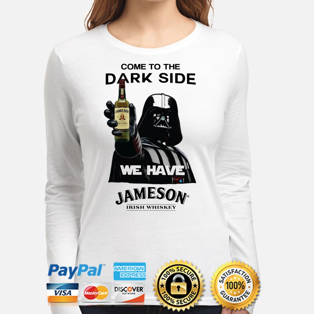 Darth Vader come to the dark side we have Jack Jameson Irish Whiskey Long sleeve