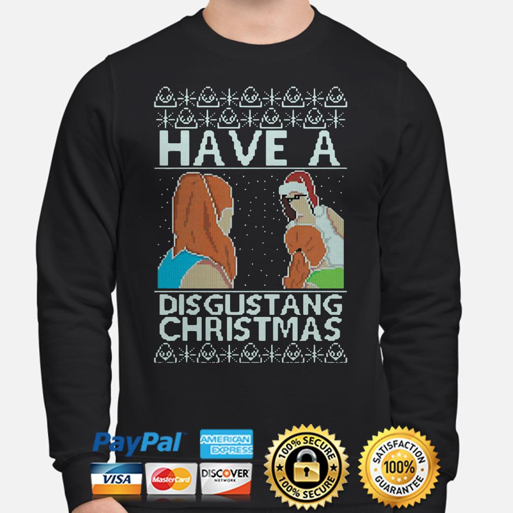 Have a Disgutang Christmas ugly sweater