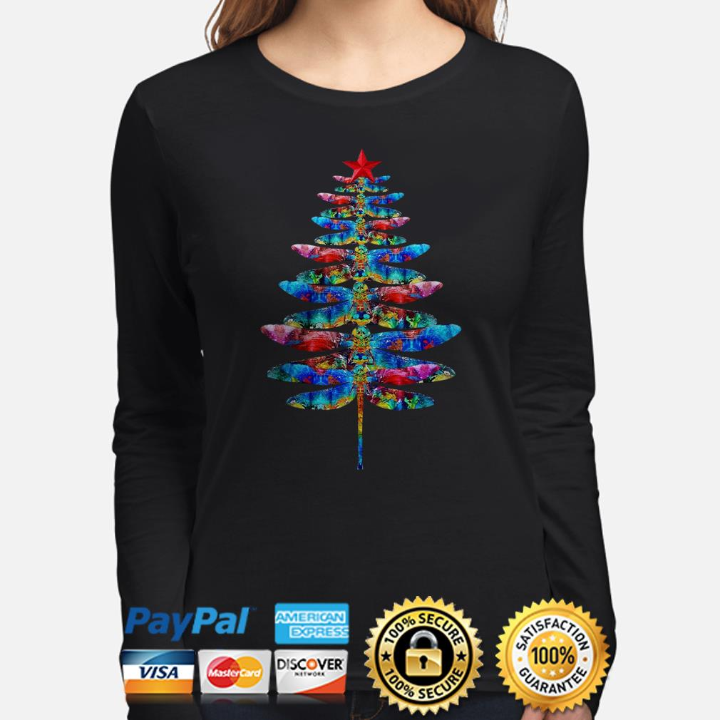 Dragonflies Christmas long sleeve