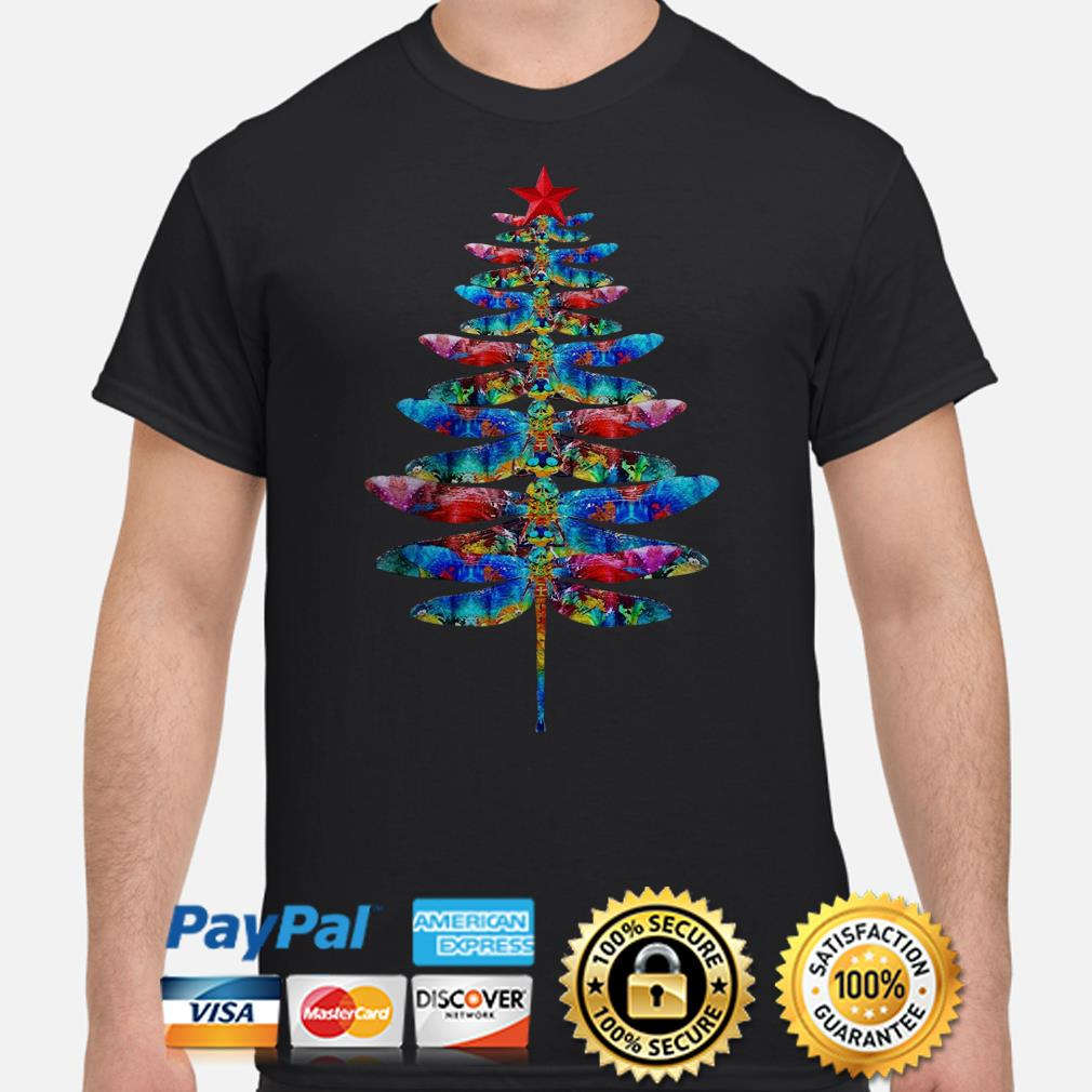 Dragonflies Christmas T-shirt