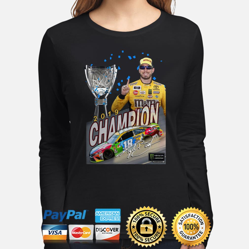 Kyle Busch 2019 Champion Long sleeve