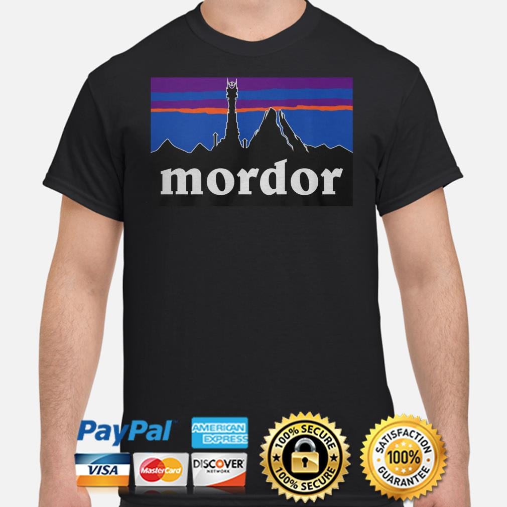 The Lord of the Rings Mordor shirt