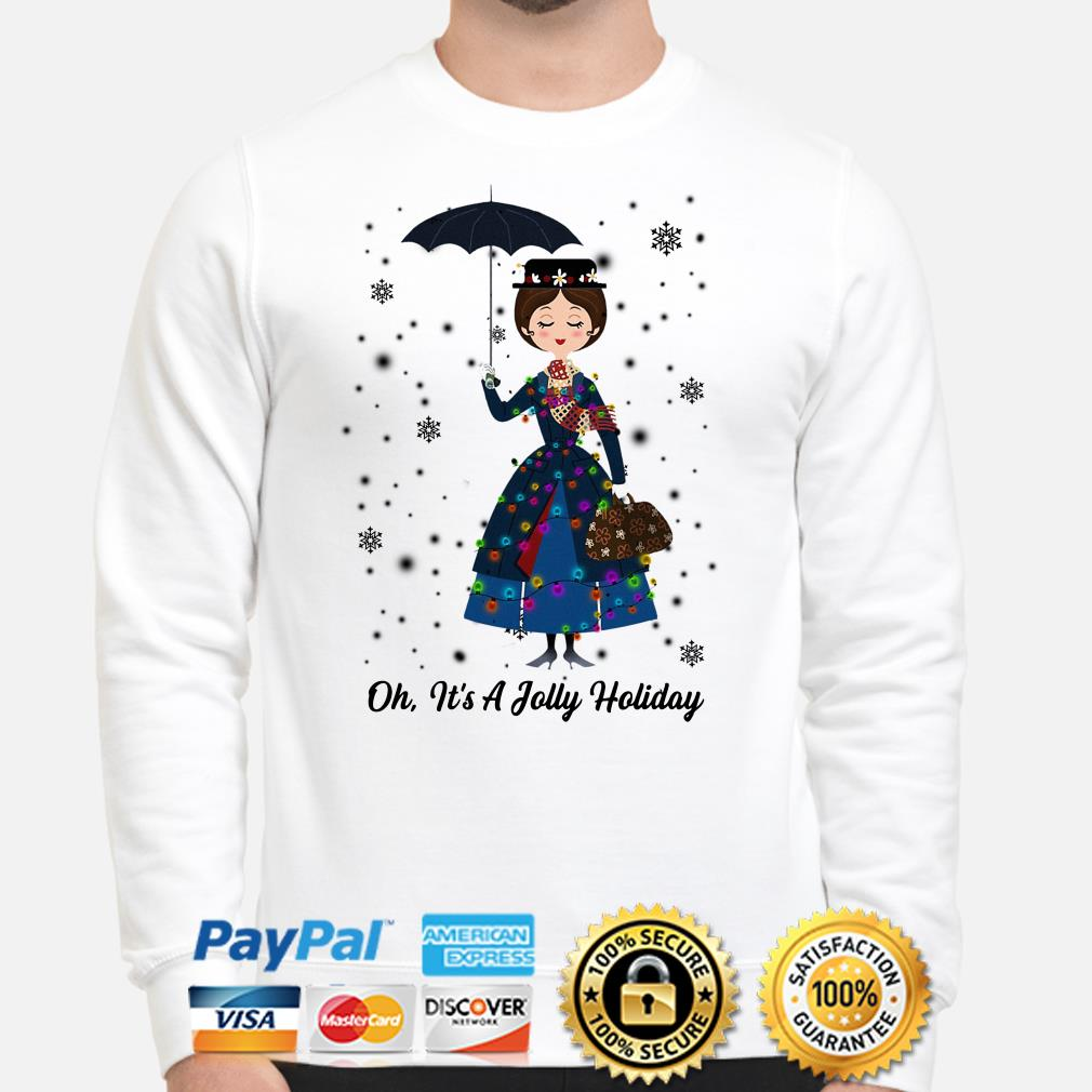 Mary Poppins oh it's a Jolly Holiday Christmas sweater