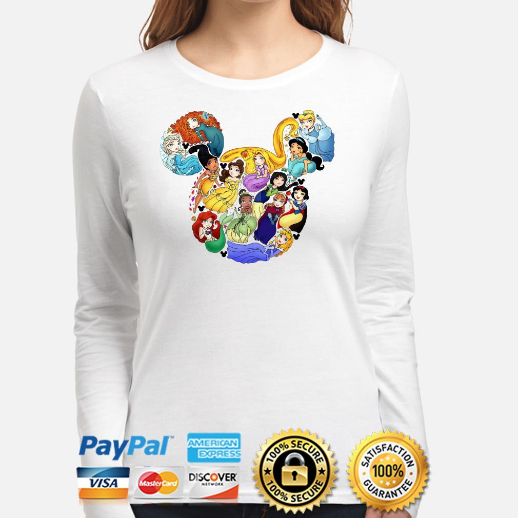 Mickey Mouse Disney Princesses long sleeve