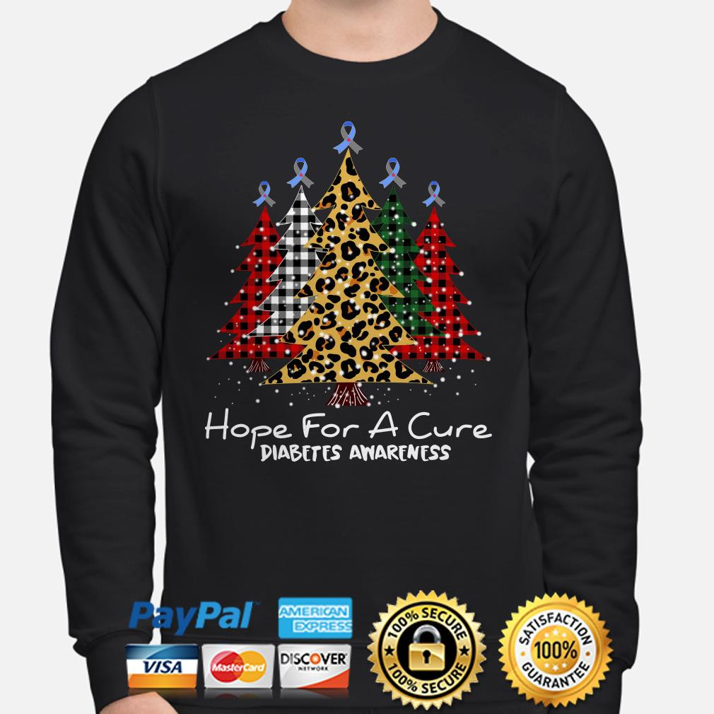 Pines hope for a cure Diabetes awareness Christmas sweater