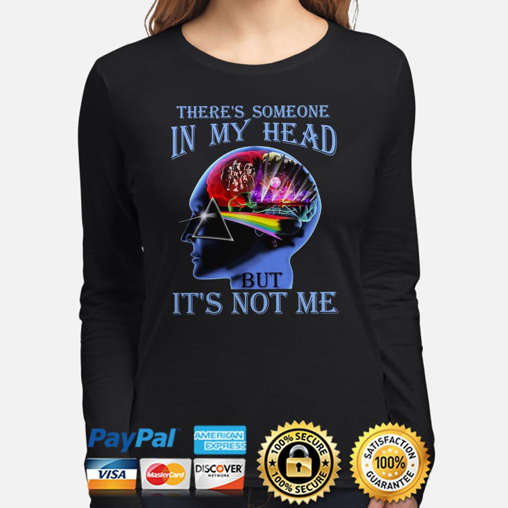 Pink Floyd There's someone in my head but it's not me long sleeve