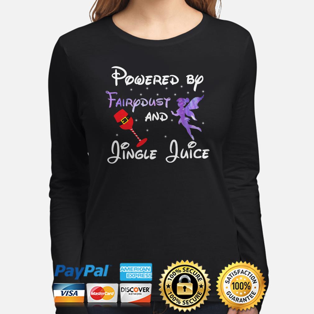 Powered by Fairydust and Jungle Juice Christmas long sleeve