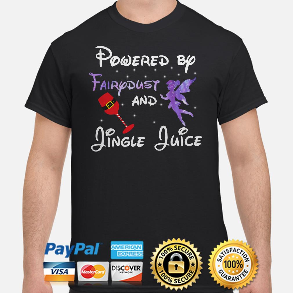 Powered by Fairydust and Jungle Juice Christmas T-shirt