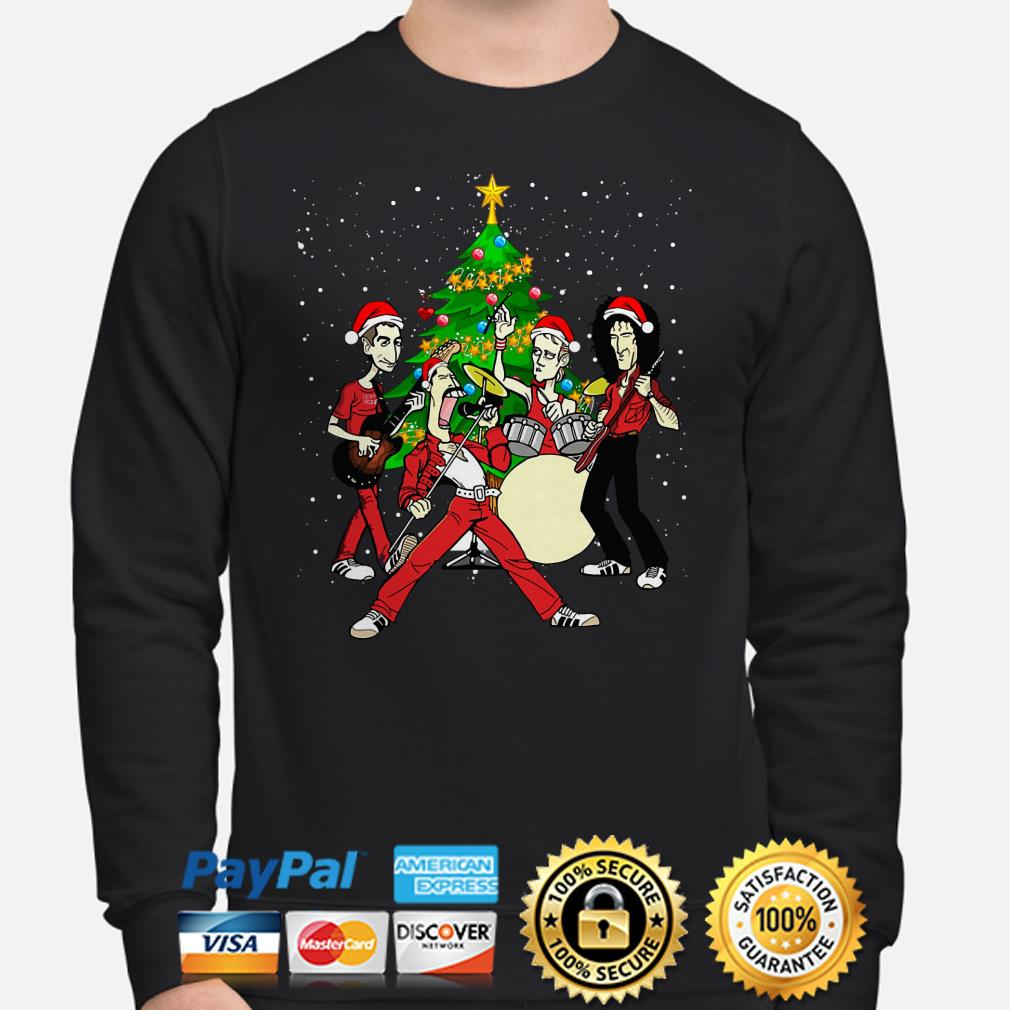 Queen Chibi Christmas tree Christmas sweater
