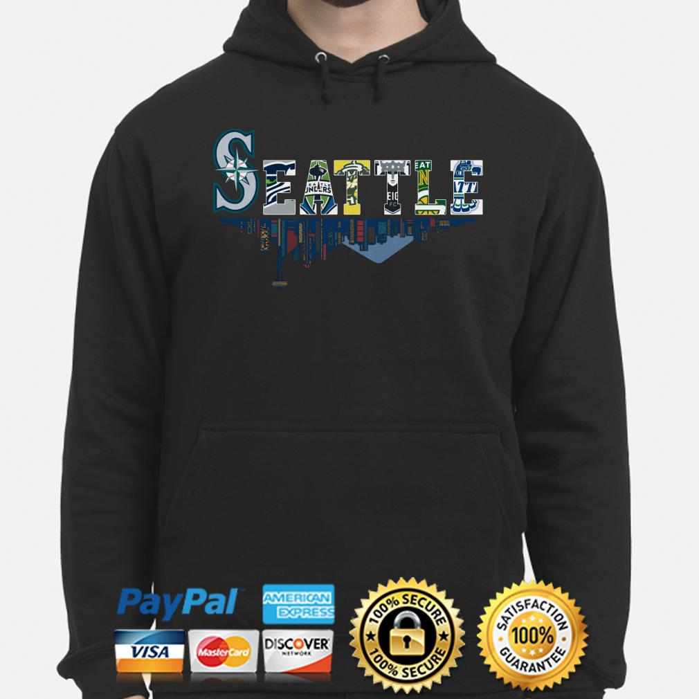 Seattle Mariners Seahawks Sounders Storm Supersonics Thunderbirds hoodie