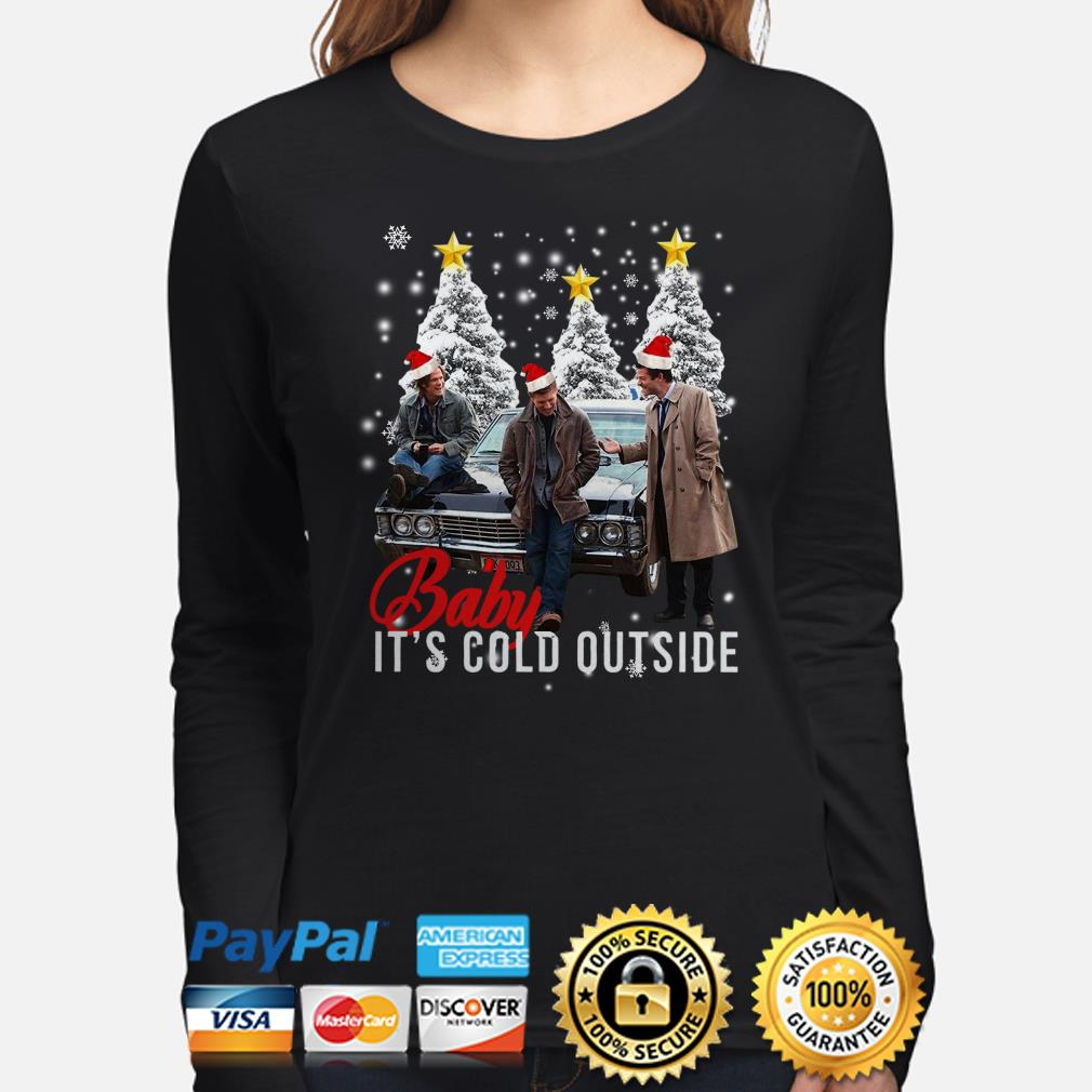 Supernatural Baby it's cold outside Christmas long sleeve