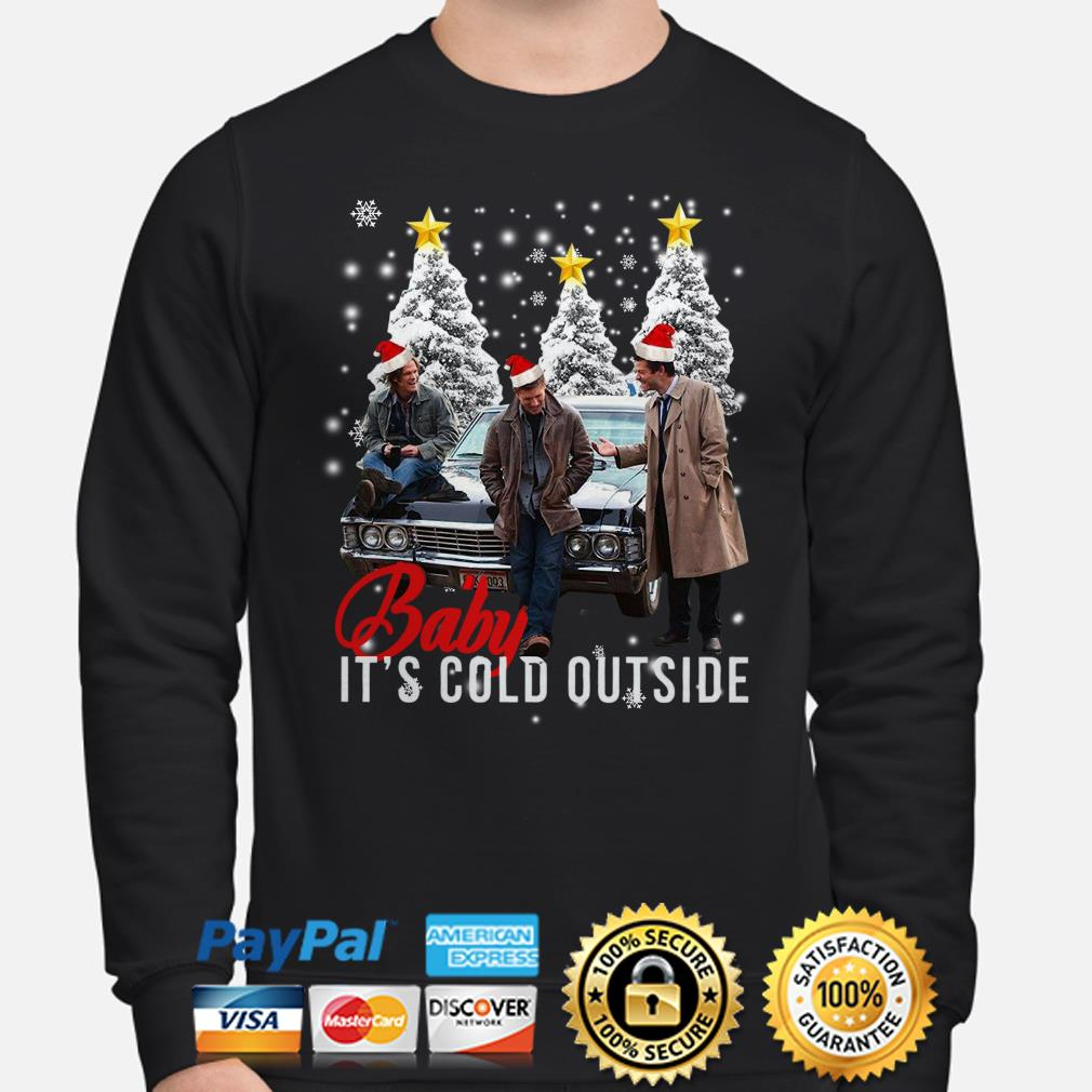 Supernatural Baby it's cold outside Christmas sweater
