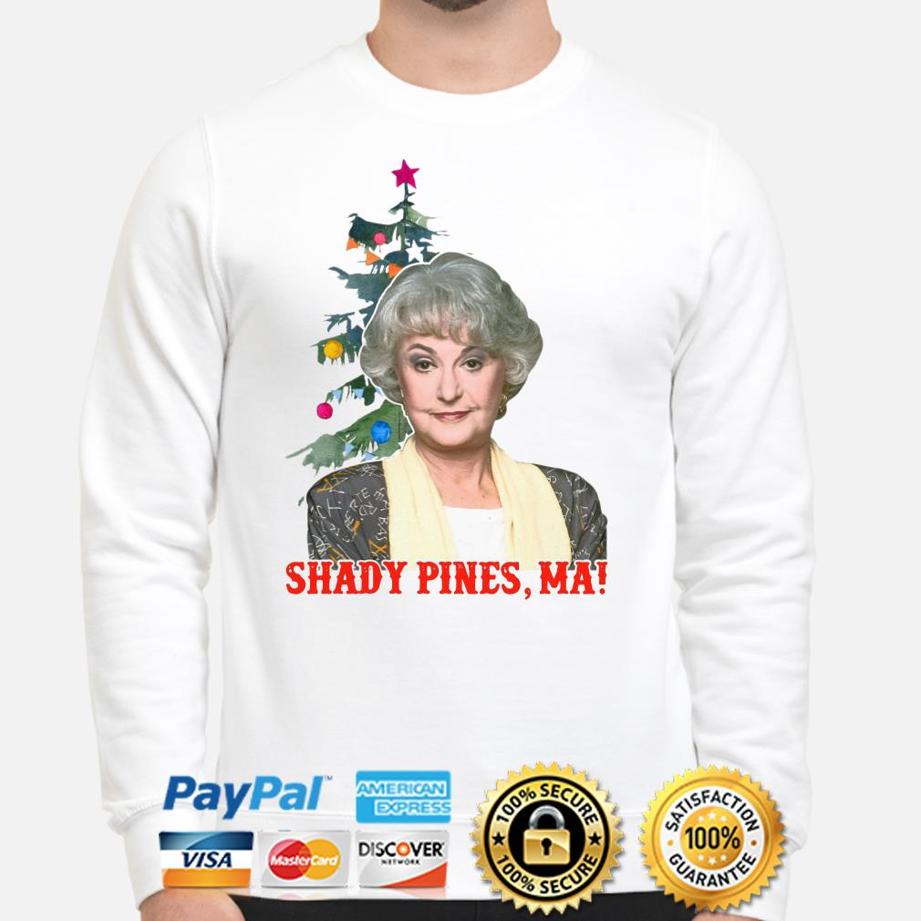 The Golden Girls Dorothy Shady Pines Ma Christmas sweater