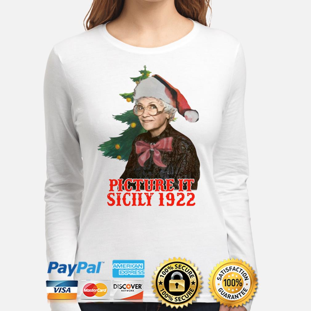 The Golden Girls Sophia Petrillo picture it sicily 1922 Christmas long sleeve