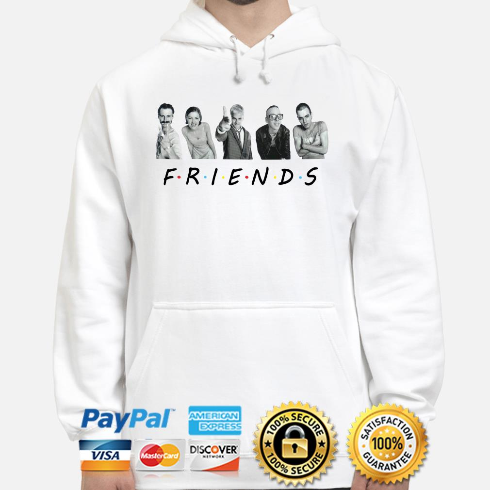 Trainspotting characters Friends TV show hoodie