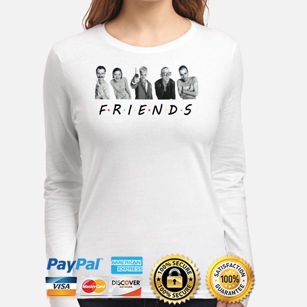 Trainspotting characters Friends TV show long sleeve