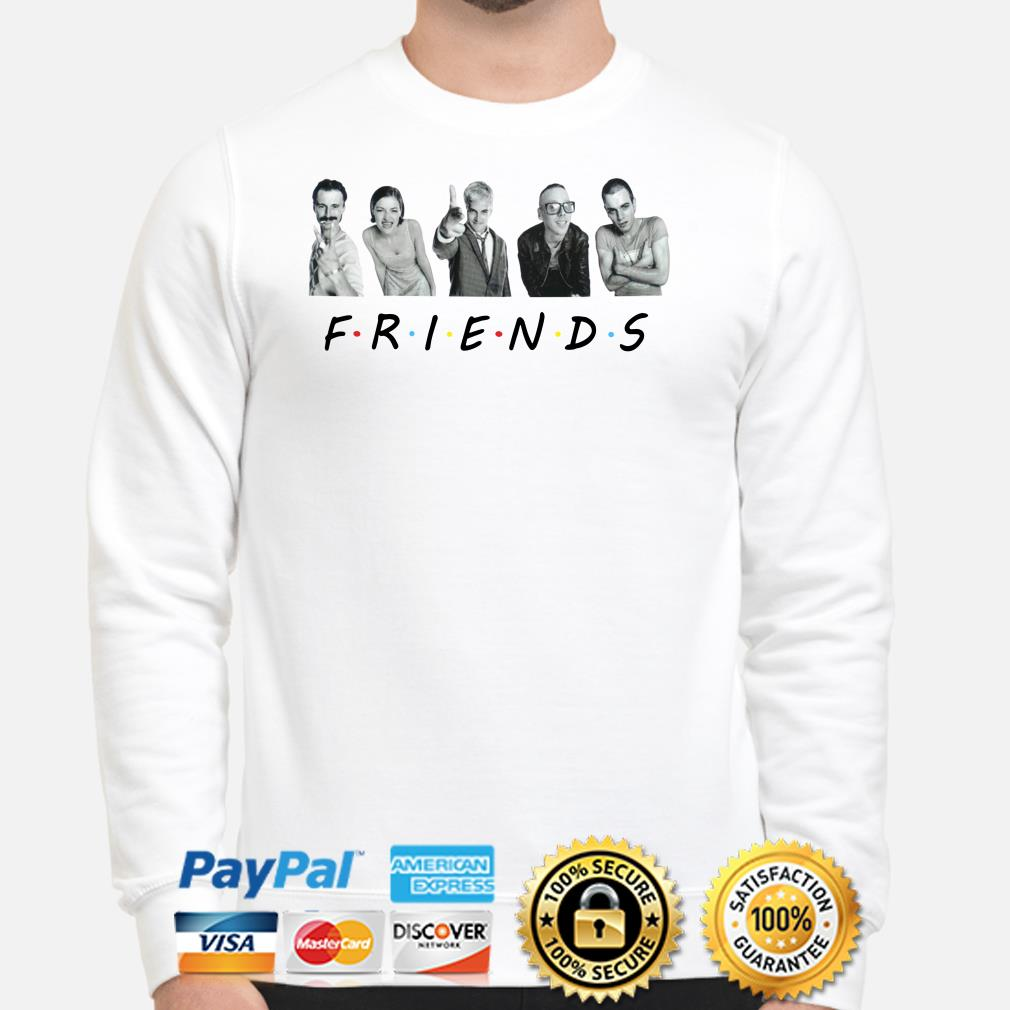 Trainspotting characters Friends TV show sweater