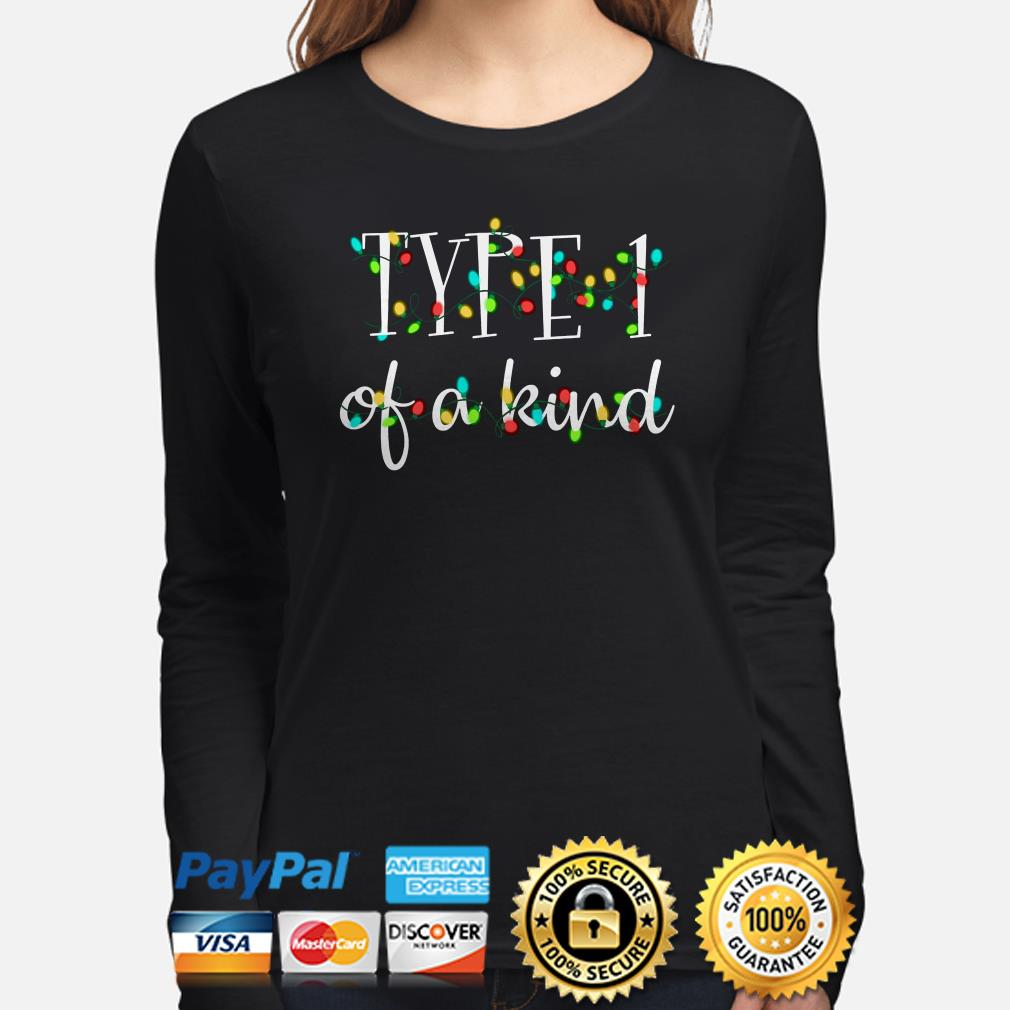 Type 1 of a kind Christmas long sleeve