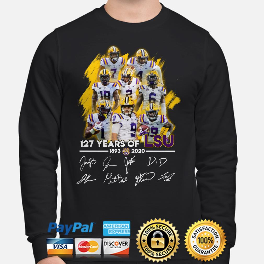 127 years of LSU Tigers signature Sweater