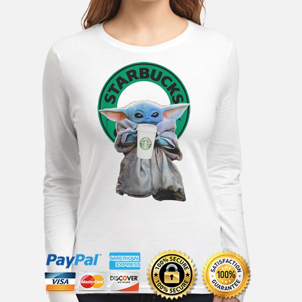 Baby Yoda Starbucks Coffee Long sleeve