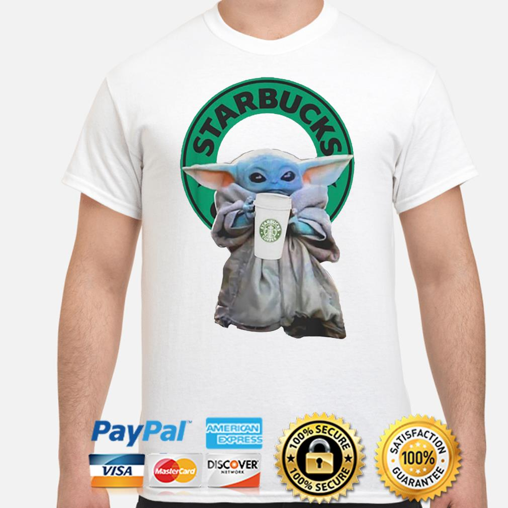 Baby Yoda Starbucks Coffee shirt