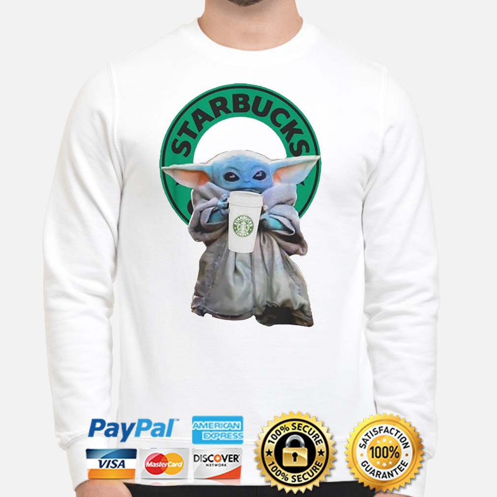 Baby Yoda Starbucks Coffee Sweater