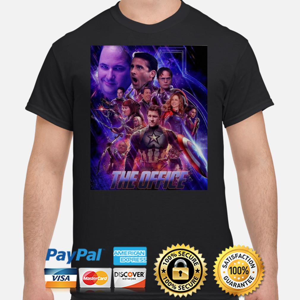 The Office Avengers shirt